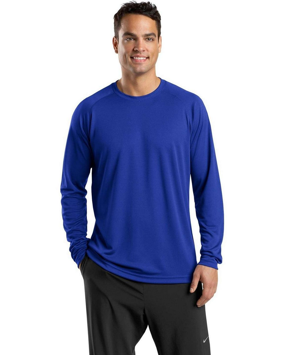 Sport-Tek T473LS Dry Zone Long Sleeve Raglan T-Shirt