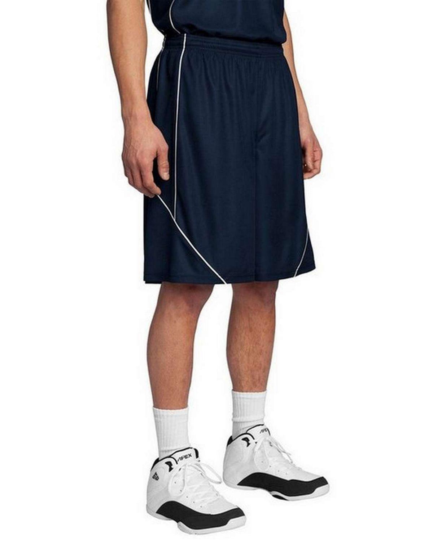Sport-Tek T565 PosiCharge Mesh Reversible Spliced Shorts