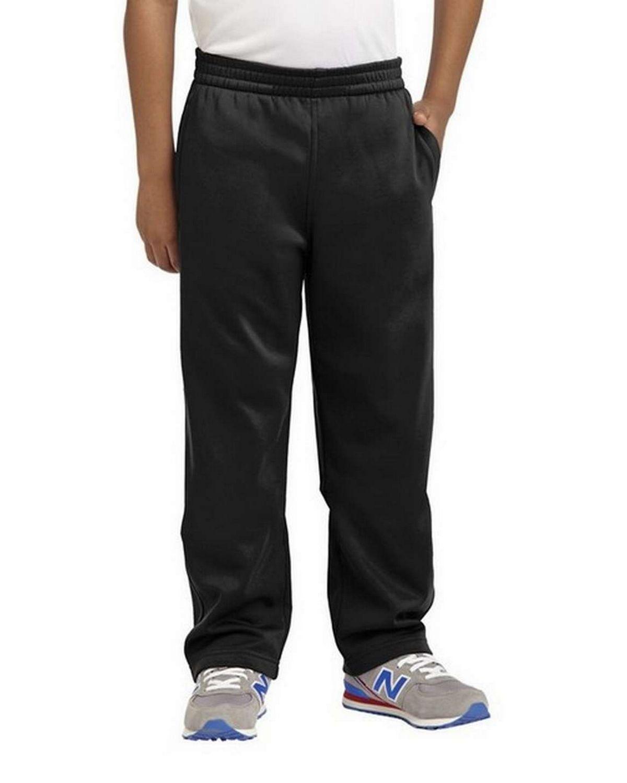 Sport-Tek YST237 Youth Sport-Wick Fleece Pant