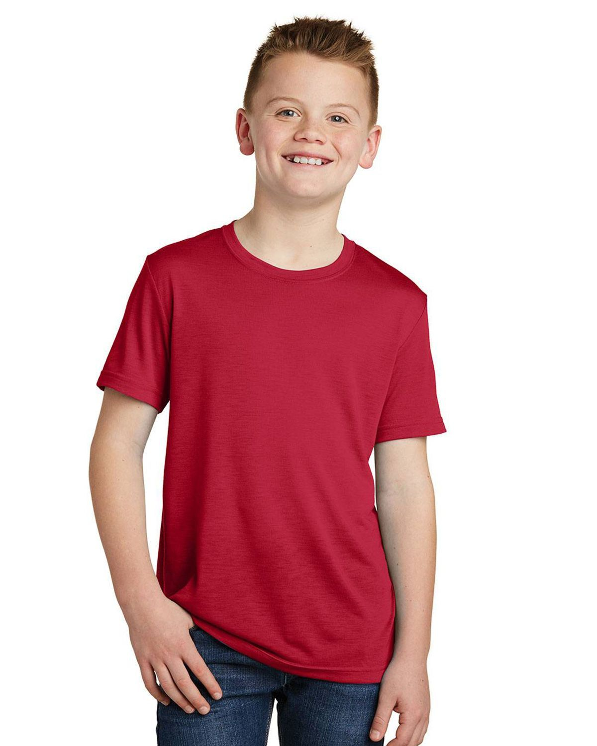Sport-Tek YST450 Youth Posi Charge Competitor Cotton Touch T-Shirt