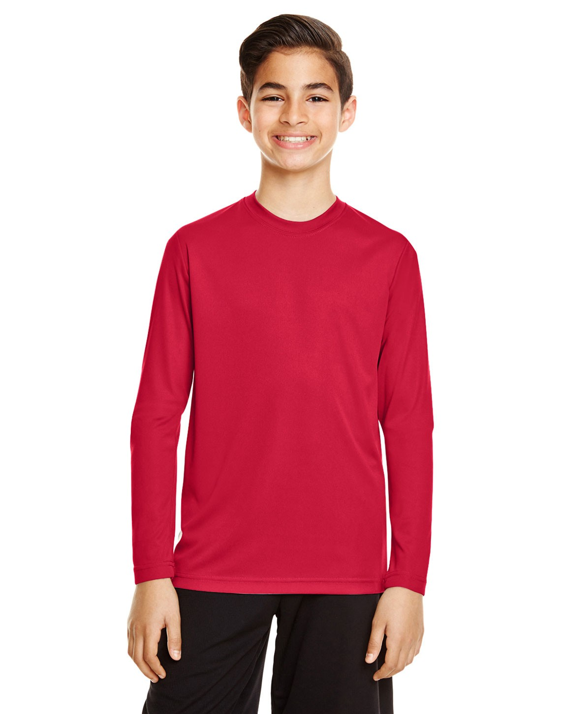 Team 365 TT11YL Youth Zone Performance Long Sleeve T-Shirt