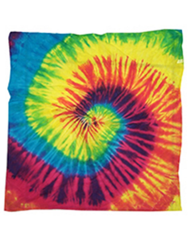 Tie-Dye 9333 Mens CD BANDANA Reactive Rainbow