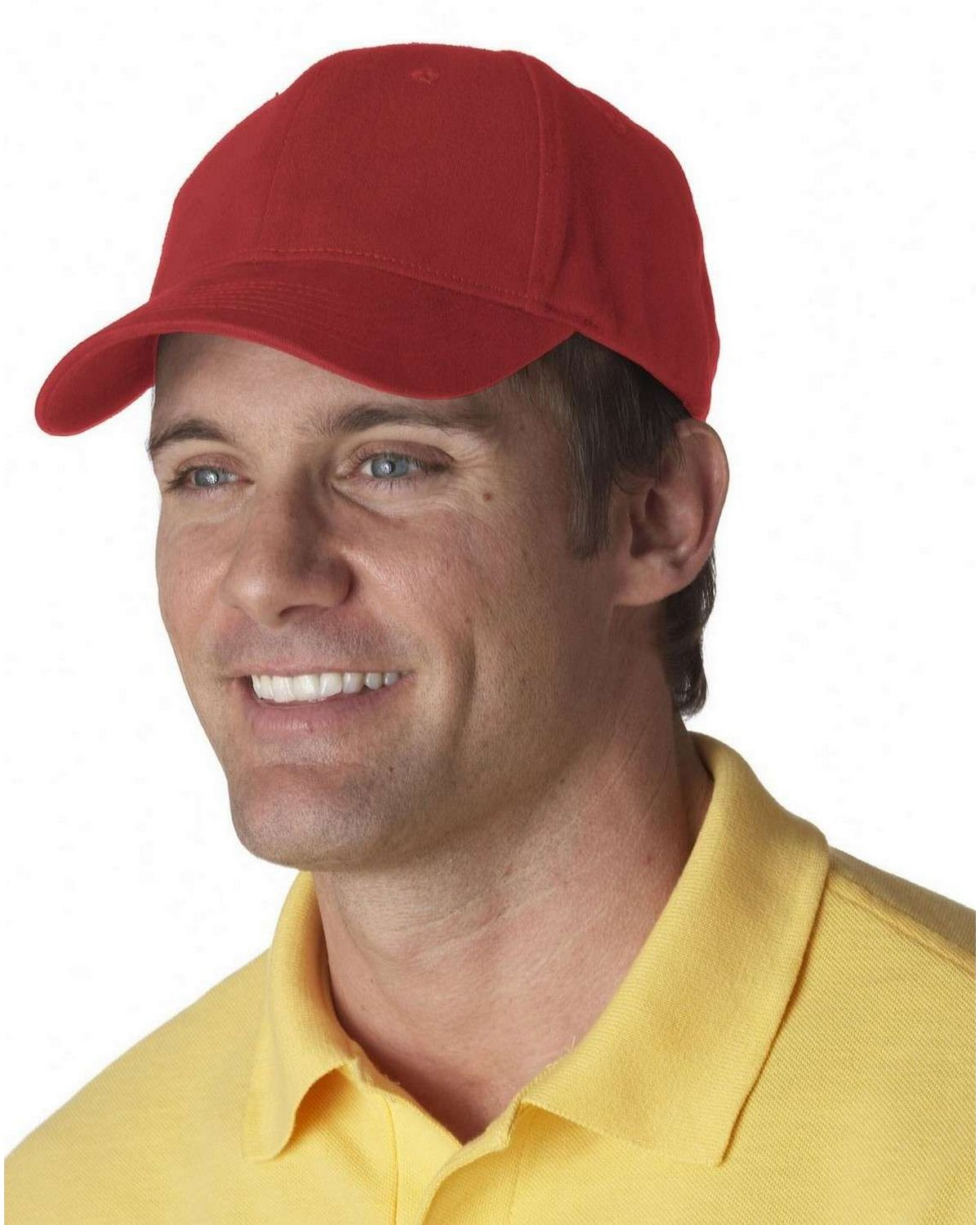 Ultraclub 8110 Brushed Solid Cap