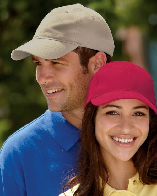 UltraClub 8111 Classic Cut Brushed Cotton Twill Unconstructed Cap