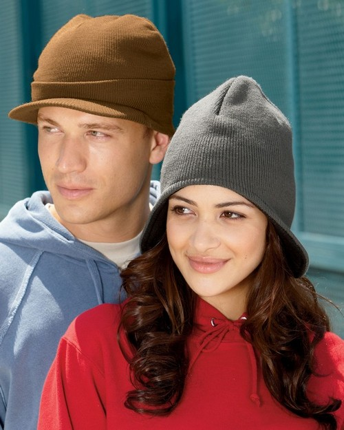 UltraClub 8133 Knit Beanie with Lid