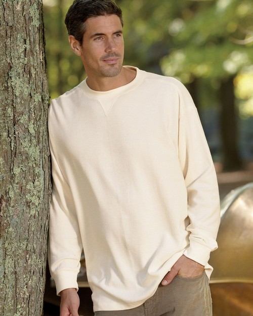UltraClub 8455 Adult Mini Thermal Crew Neck