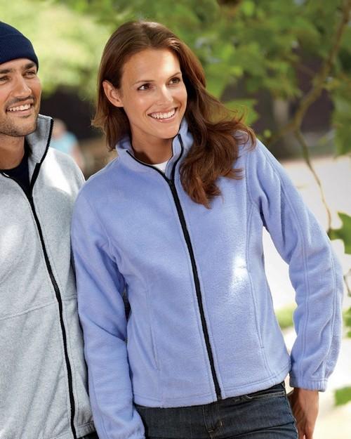 UltraClub 8481 Ladies Iceberg Fleece Full-Zip Jacket