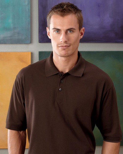 UltraClub 8540 Mens Whisper Pique Polo