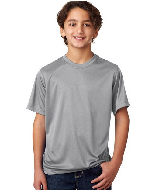 Ultraclub 8620Y Youth Cool & Dry Basic Performance Tee