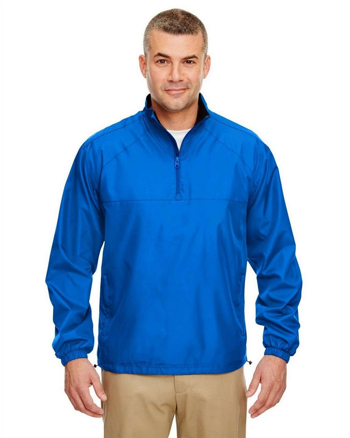 Ultraclub 8936 UC Poly 1/4 Zip Pullover