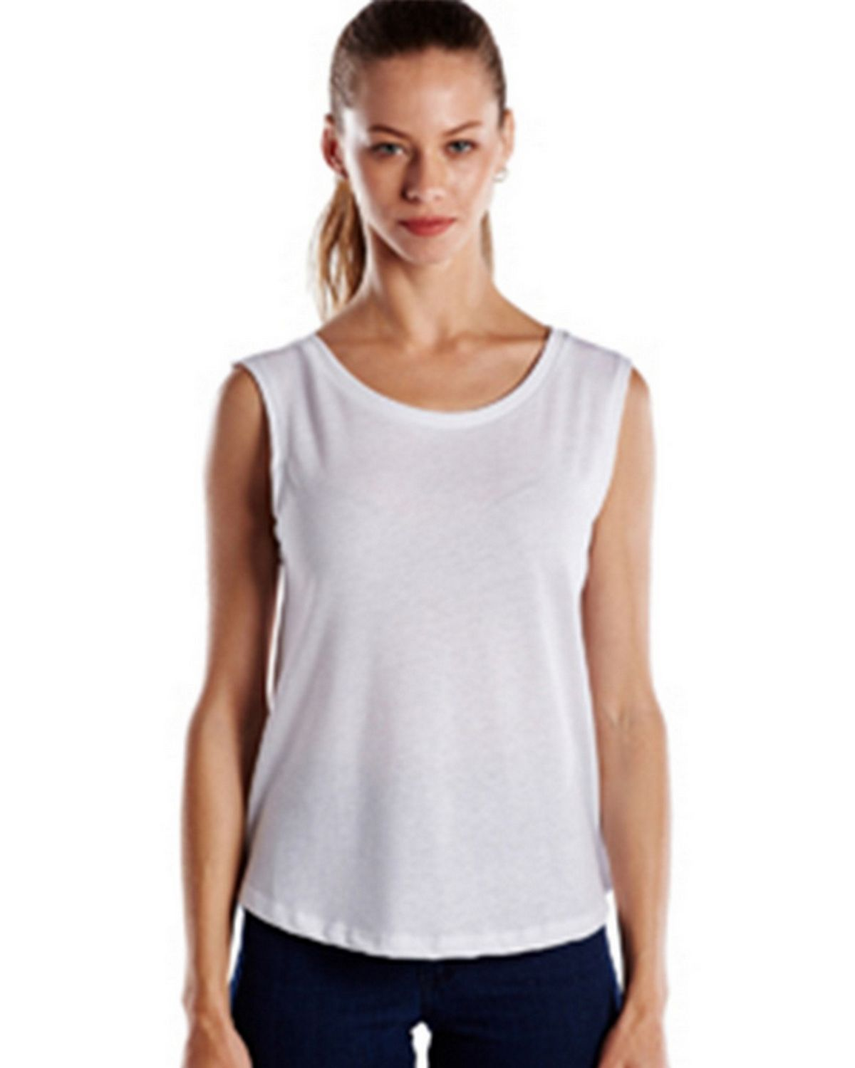 US Blanks US116 Ladies Muscle Tank